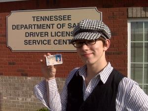 Noah's Drivers License