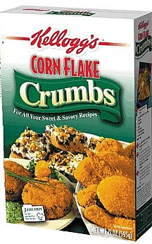 Cornflake crumbs | the south in my mouth