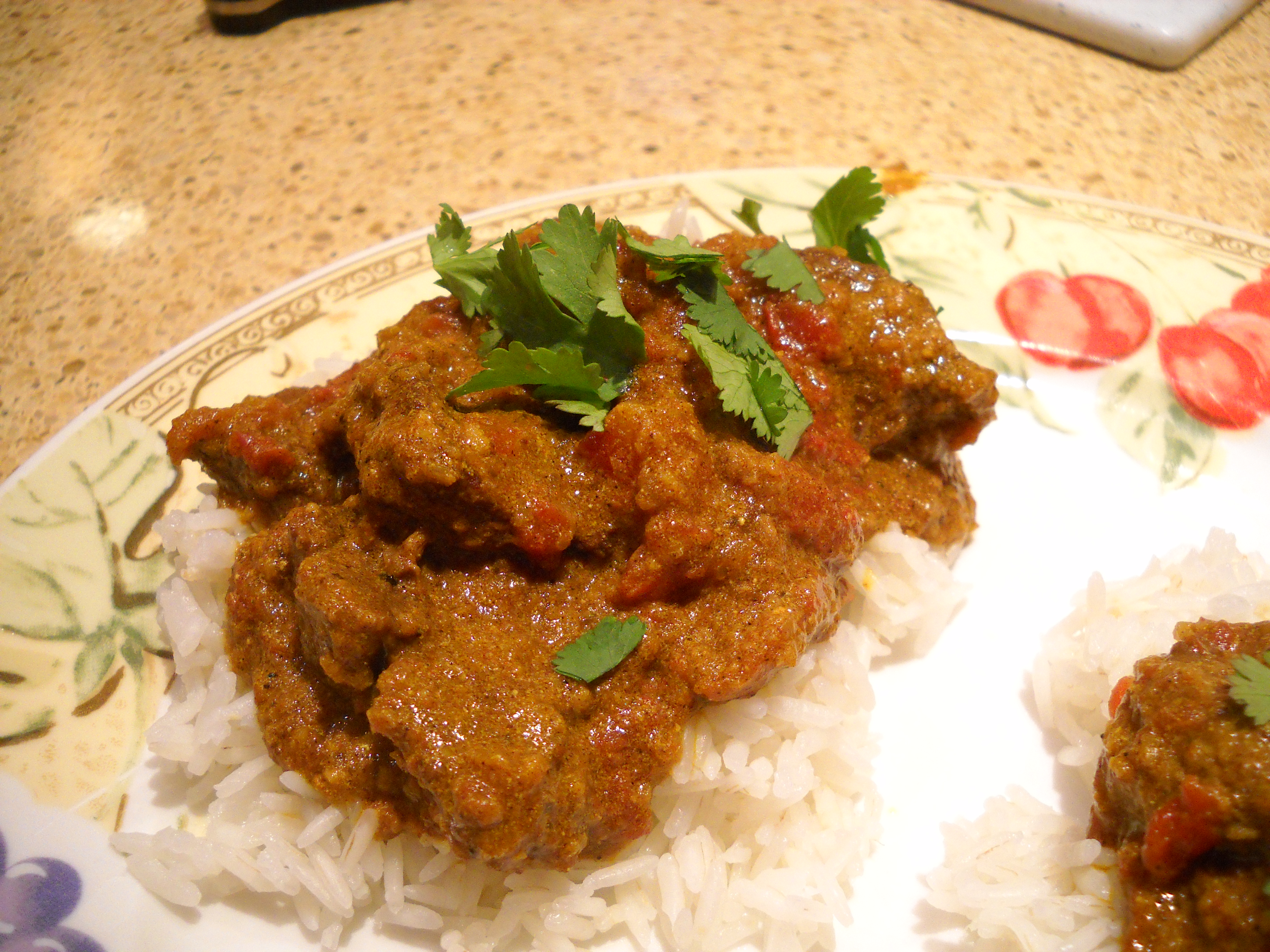 Indian lamb curry | the south in my mouth
