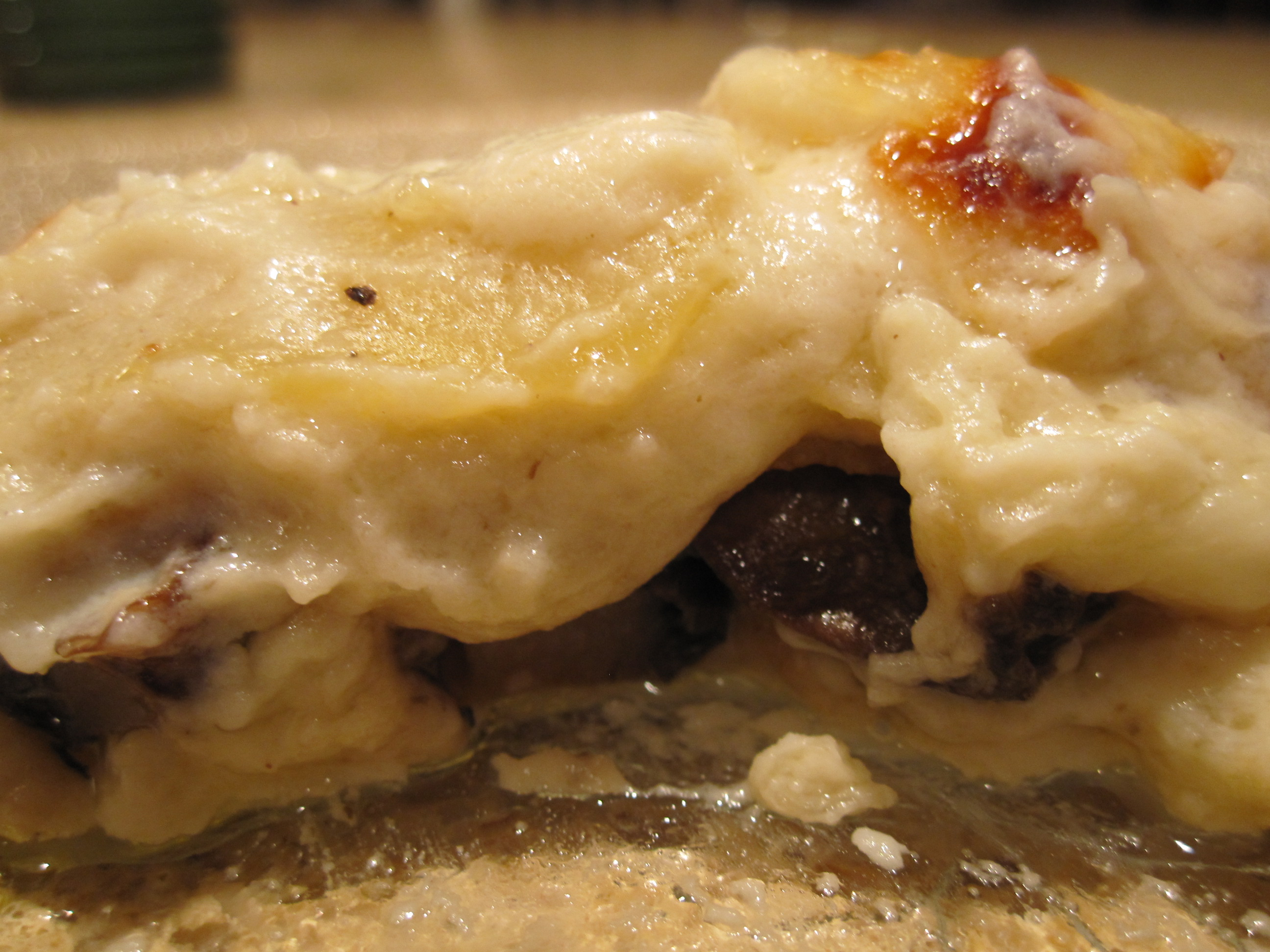 Mushroom lasagna | the south in my mouth